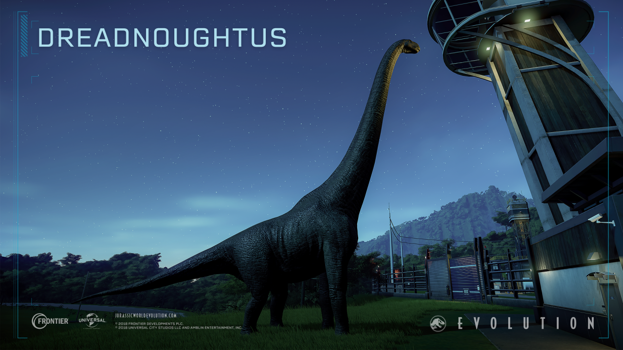 Jurassic World Evolution: Cretaceous Dinosaur Pack Out Now